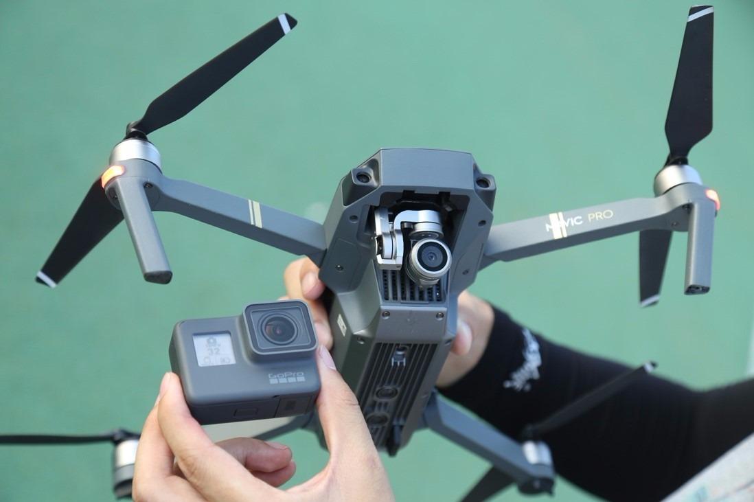 大疆御Mavic Pro &GoPro HERO 5实拍样片对比!